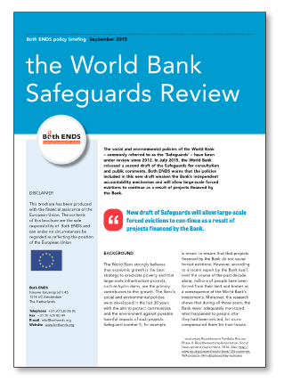 World Bank Safeguards